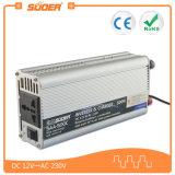 Inversor del inversor 500W 12V 220V de Suoer con el cargador de batería (SAA-500C)