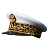 Soem kundenspezifischer Militäroffizier ragte Schutzkappe mit Polyester 100% empor