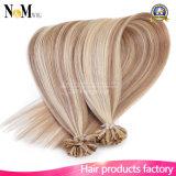 Extensões de cabelo humano U Dica Extensões reais de cabelo humano Flip Keratin 100 fios Remy Extensões de fusão de cabelo humano
