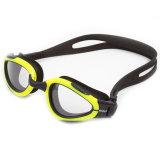 Impermeable PC al por mayor seguridad de la lente gafas de natación