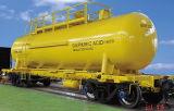 Coche del tanque ligero ferroviario de petróleo