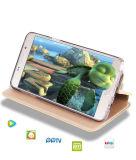 Cas de couverture de téléphone mobile de chiquenaude de fonction de Kickstand pour HTC U ultra
