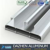 Profil en aluminium de l'Irak pour la porte coulissante de tissu pour rideaux de guichet
