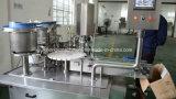 De automatische 10ml 5ml Machine van het Flessenvullen met het Etiket van de Kurk GLB van de Vulling