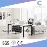 Marco de metal Blanco Color Ejecutivo de oficina Escritorio elegante