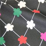 Напечатанная цветком искусственная кожа PVC для мебели