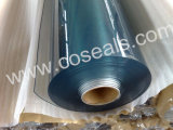 Roulis flexible de feuille de PVC pour le tissu de Tableau