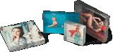 Acrylschreibtisch-Blöcke und Acrylfoto-Rahmen