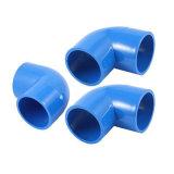 파랑 40mm x 40mm 90 도 동등한 것 팔꿈치 PVC 관