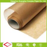 Padaria Use papel de pergaminho de forro de silicone para forro de bandeja