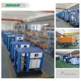 Compresor de aire de rosca rotatorio industrial del motor eléctrico del control inteligente