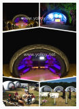 Air Structure Dome Tent Tent Iluminación Scenery