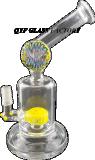 Kleiner Dampf-Trinkwasserbrunnen-Glaswasser Pipe#09