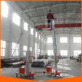 de Mast die van de Lift van het Aluminium van 6m Platform beklimmen