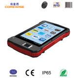 Industriële Tablet met de Scanner van de Streepjescode van de Lezer van de Kaart van de Vingerafdruk RFID