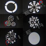 1*10W LEDの白い小型ビーム点の移動ヘッド段階ライト