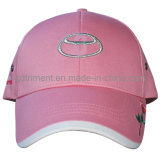Металлическая бейсбольная кепка гольфа спорта Twill хлопка вышивки (TRB016)