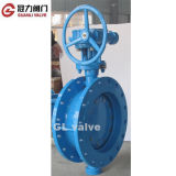 ANSI16.5 Flange Butterfly Valve con Bevel Gear