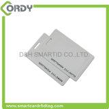 Tarjeta de la identificación de la cubierta RFID de la proximidad tk4100 del control de acceso con el espesor de 1.8m m