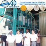 Refeição branca super do milho que faz a máquina 150ton por o dia