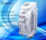 2016 chaud choisissent la machine permanente de déplacement de tatouage de laser de ND YAG d'épilation d'E-Lumière de chargement initial Shr
