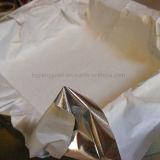 Papier de traitement au four rayé par parchemin antiadhésif de papier d'aluminium