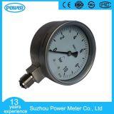 plein type manomètre sec de Wika d'acier inoxydable de 100mm d'indicateur de pression
