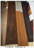 Le bois européen de protection de l'environnement est plancher simple et généreux de clic de vinyle de PVC