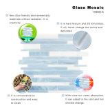 Mosaico de cristal blanco del azulejo del subterráneo del arte del material de construcción