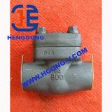 Il tipo pressione di API/DIN Y ha saldato la valvola di globo d'acciaio forgiata olio industriale