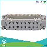 вставка 250V/16A разъема компактного размера 16p сверхмощная