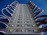 Módulo Epoxy do diodo emissor de luz do RGB 5050 brilhantes elevados com 3LEDs