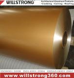 Катушка металлического цвета алюминиевая с покрытием PVDF