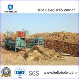 Horizontale hydraulische halbautomatische Heu-Ballenpresse