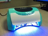 diodo emissor de luz UV Nail Lamp Gel Dryer de 18W CCFL
