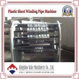 Tubo de enrrollamiento reforzado acero del PE que hace la máquina