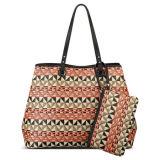Neue Art-modischer Webart-Muster-Dame-Handtaschen-Strohtote-Beutel