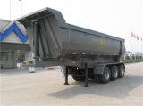 China hizo 3-Axle que vaciaba el acoplado con Hyva hidráulico