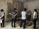 جيل يرشّ آلة جدار يجصّص أداء آلة