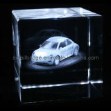 Cubo cristalino del escarabajo 3D (AQ8068)