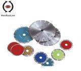 다이아몬드 모서리를 깎아내는 디스크를 위한 다이아몬드 절단 디스크
