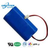 pacchetto della batteria di litio della macchina di aspirazione della batteria di litio delle attrezzature mediche di 7.4V 6600mAh