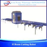 H-Beamの切断のロボット