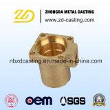 Peça de bronze da válvula da fundição da carcaça do OEM