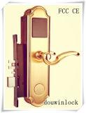 Fechamento esperto do cartão chave do hotel da proximidade