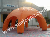 Barraca inflável da feira profissional