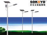 réverbère solaire de 60W LED avec