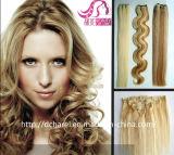 Cheveux humains, prolongation de cheveux humains