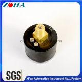 """Pneumatisches rückseitige Montage-Qualität der Druckanzeiger-40mm/1.5 """" hergestellt in China"""