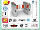 Torniquete inteligente da porta de balanço do aço inoxidável, sistemas de segurança do torniquete do controle de acesso